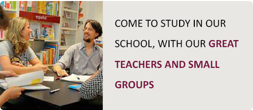 Language school with great teachers and small groups